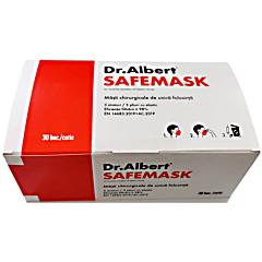Masca chirurgicala cu filtru >98%, cutie Dr.Albert 30buc