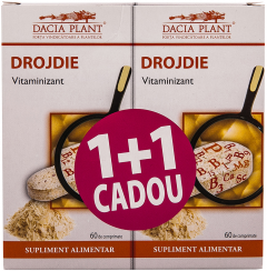 Drojdie 1 + 1 Dacia Plant 60