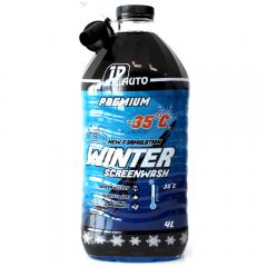 Solutie pentru spalat parbriz JP Auto Premium iarna -35°C, 4l