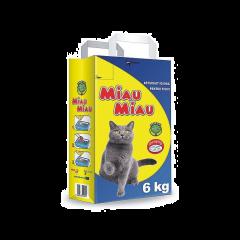 Asternut igienic pentru pisici Miau Miau 6kg