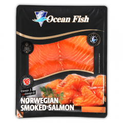 File somon afumat Ocean Fish 100g