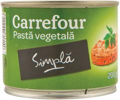 Pasta vegetala simpla Carrefour 200g