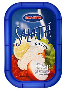 Salata de icre de crap si ceapa Bonito 350g