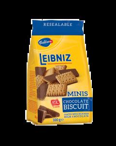 Biscuiti cu ciocolata cu lapte Leibniz Minis Choco 100g