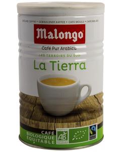 Cafea macinata ecologica 100% Arabica Malongo La Tierra 250g