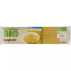 Spaghete Carrefour Bio 500g