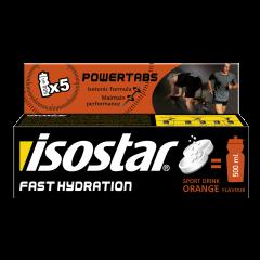 Tablete cu aroma de portocala Isostar Powertabs 120g