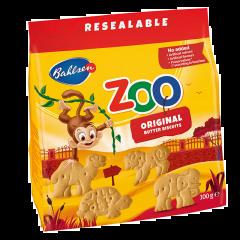 Biscuiti cu unt Leibniz Zoo 100g