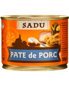 Pate de porc Sadu 200g