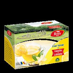 Ceai verde cu lamaie si vanilie Fares Ceaiurile Lumii 30g