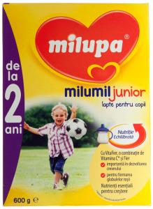 Lapte pentru copii Milupa Milumil Junior 2+ 600g