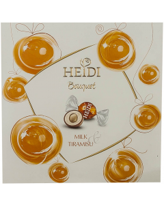 Praline din ciocolata cu tiramisu Heidi Bouquet 220g