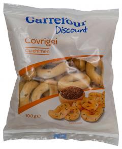 Covrigei cu chimen Carrefour 100g