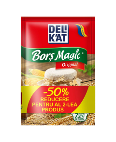 Bors Magic Original Delikat 1+1-50% 2x20 g