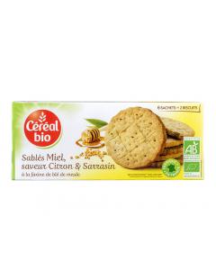 Biscuiti bio cu unt, miere si lamaie Cereal Bio 132g
