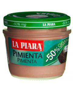 Pate de porc cu piper verde La Piara 100g