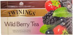 Ceai negru cu aroma fructe de padure Twinings 25x2g