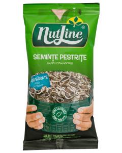 Seminte pestrite de floarea soarelui prajite si usor sarate Nutline 100g