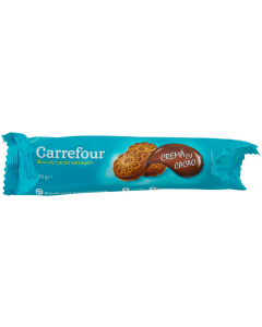 Biscuiti cacao Carrefour 72g