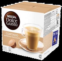 Nescafe Dolce Gusto Cortado Espresso Machiatto 16 capsule, 100.8g
