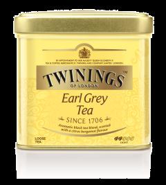 Ceai negru cu aroma de bergamota Twinings Earl Grey Tea 100g