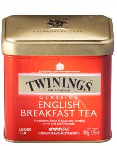 Ceai negru Twinings English Breakfast 100g