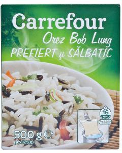 Orez Bob Lung Prefiert si Salbatic Carrefour 500g