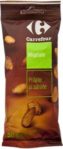 Migdale prajite Carrefour 50g