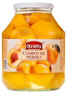 Compot de piersici Olympia 1700ml