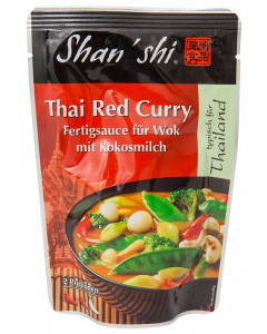 Sos aromatic Thai Red Curry Shan'shi 120g