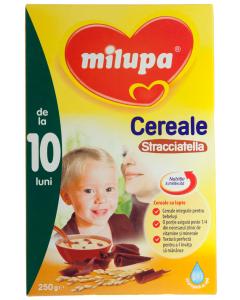 Cereale cu lapte si stracciatella 10 luni+ Milupa 250g