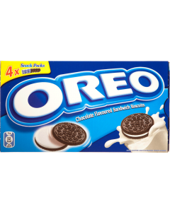 Biscuiti de cacao cu crema cu aroma de vanilie Oreo 176g