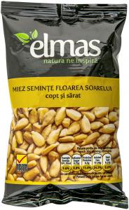 Miez seminte floarea soarelui copt si sarat Elmas 100g