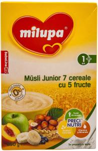 Cereale Junior musli fructe Milupa 250g