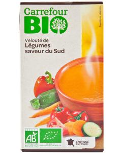 Supa de legume din Sud Carrefour Bio 1L