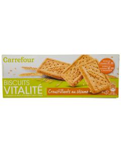 Biscuiti cu susan Carrefour 200g