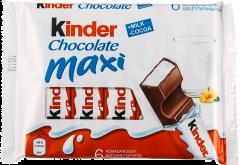 Baton de ciocolata cu umplutura de lapte Kinder 126g