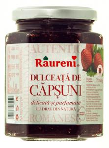 Dulceata de capsuni Raureni 350g
