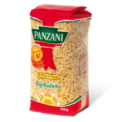 Paste fainoase Panzani Alphabets 500g