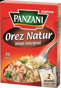 Orez brun natur express Panzani 250g