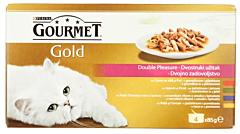 Hrana completa pentru pisici adulte Gourmet Gold 340g
