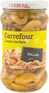 Ciuperci de Paris taiate Carrefour 280g