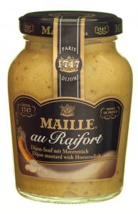 Mustar Dijon cu hrean Maille 205g
