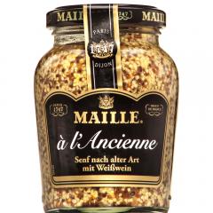 Mustar Dijon cu boabe intregi Maille 210g