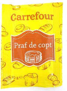 Praf de copt Carrefour 10g