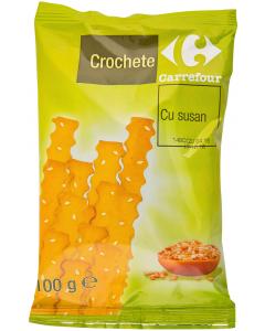 Crochete cu susan Carrefour 100g