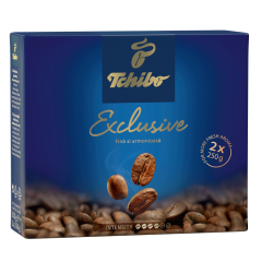 Pachet Cafea prajita si macinata Tchibo Exclusive 500g