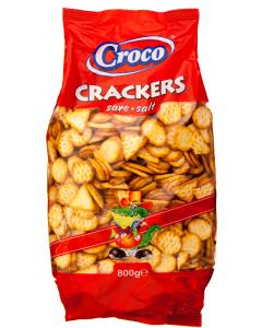 Biscuiti aperitiv cu sare Croco 800g
