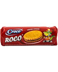 Biscuiti cu crema de cacao Croco 150g