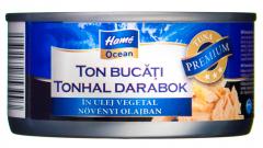 Ton bucati in ulei vegetal Hame Ocean 185g